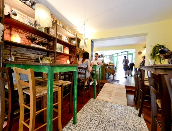 Restaurant Vegetalia: Interior