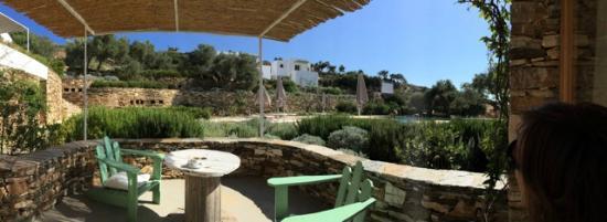 Kamaroti Suites Hotel: terrasse chambre