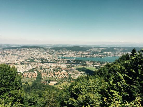 Bilde fra Uetliberg Mountain