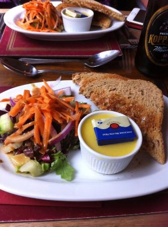 The Spotgate Inn: Chicken Liver Pate.