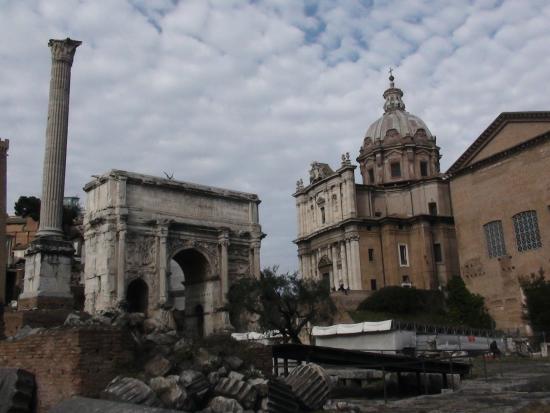 Palatine Hill: Римский форум у Палатина.