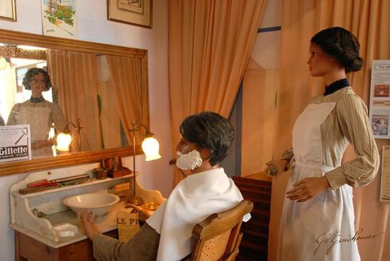 Musee du Pays de Retz: chez le barbier