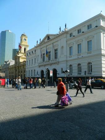 Centro Cultural Palacio de la Moneda y Plaza de la Ciudadanía: Palacio de la Moneda