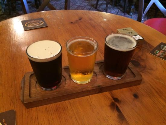 The New Inn: Sampler tray until you find favoraite