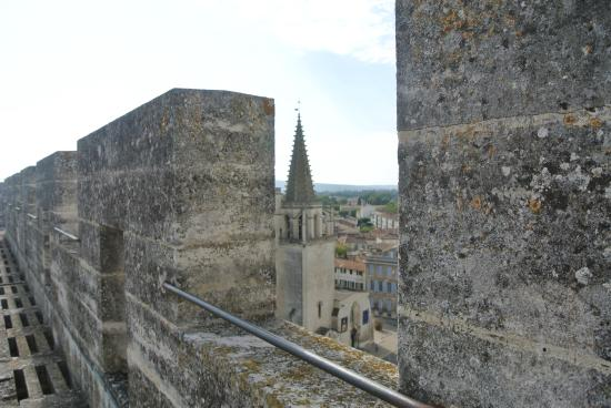 Chateau de Tarascon: vue sur la ville