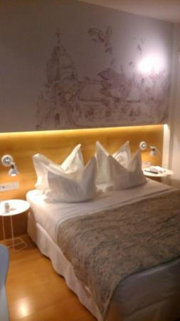 Hotel Párraga Siete: el dormitorio muy bonito,pero...