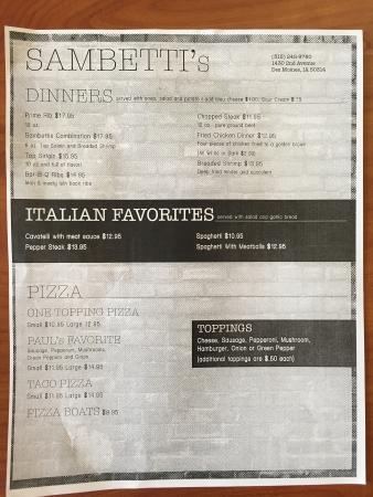 Bilde fra Sambetti's
