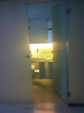 Hotel Porta Fira: bagno