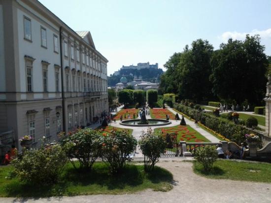 Mirabell slott og hager: Giardini alla francese