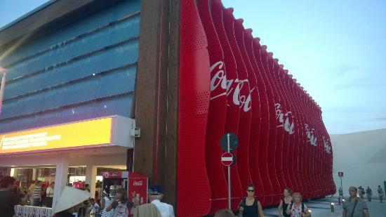 Expo 2015: Coca Cola