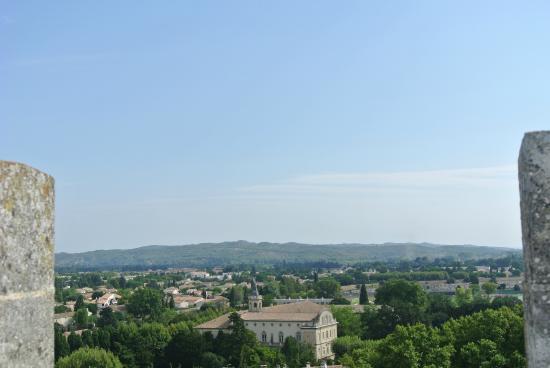 Chateau de Tarascon: vue du château