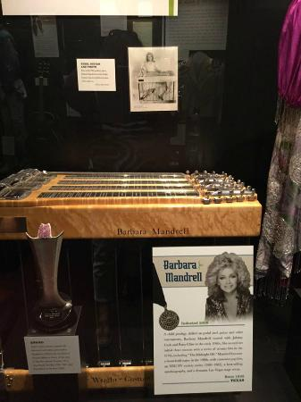Country Music Hall of Fame and Museum: Barbara Mandrell memorabilia