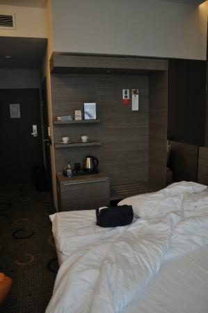 Q Hotel Plus Kraków: habitacion desde la ventana