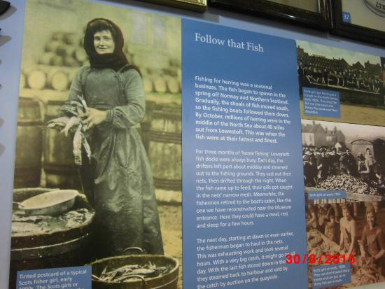 Lowestoft and East Suffolk Maritime Museum: Story of fishermens wives