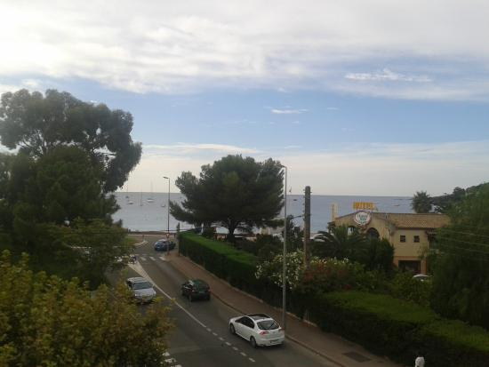 Hotel le Relais d'Agay: view from room 16
