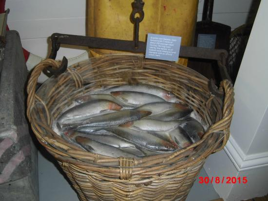 Lowestoft and East Suffolk Maritime Museum: 'Herring' in basket