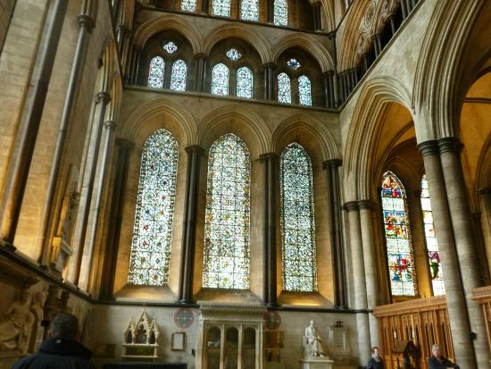 Salisbury Cathedral and Magna Carta: yet another lovely window