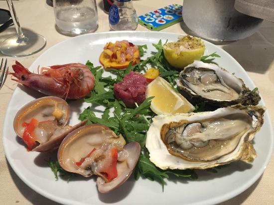 Oasi Azzurra Restaurant: Crudo