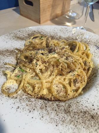 Oasi Azzurra Restaurant: Spaghetti alla Bottarga