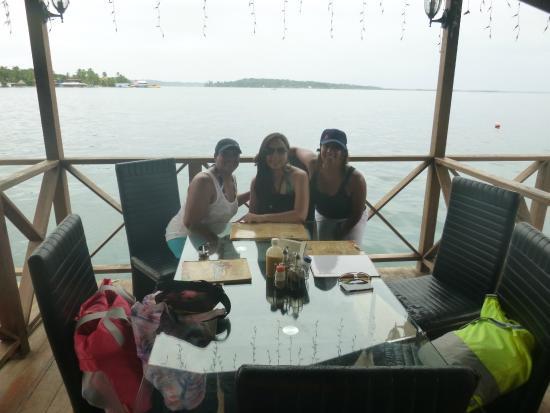 El Pirata: Deck over the sea, a perfect spot to wait Under Sea trip