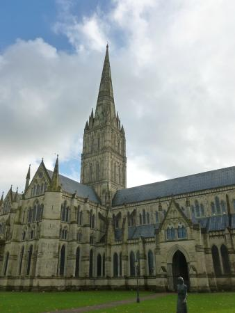 Salisbury Cathedral and Magna Carta: view from the town