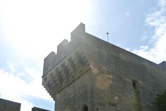 Chateau de Tarascon: les tours