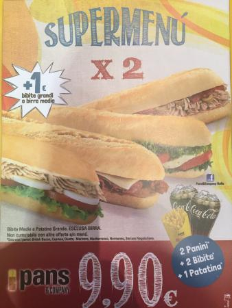 Pans & C.: Promozioni