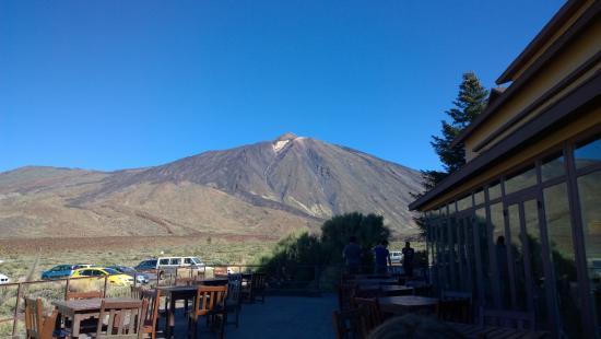 Volcan El Teide: El Teide from Cafe