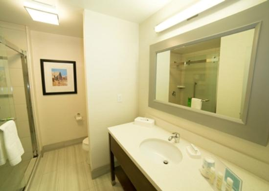 Hampton Inn by Hilton Lloydminster: Bathroom