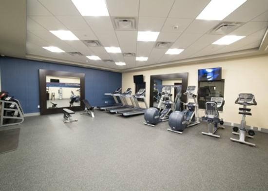 Hampton Inn by Hilton Lloydminster: Fitness center
