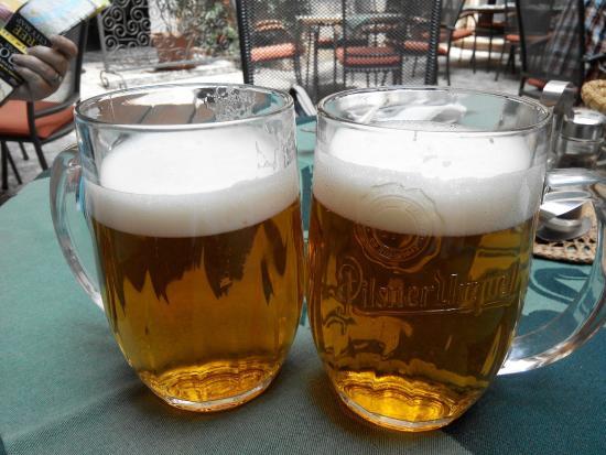 Restaurace U Labuti: Пиво светлое