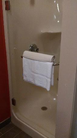 Sleep Inn: Awesome shower