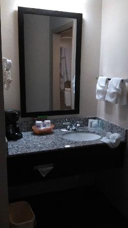 Sleep Inn: Sink area