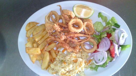 Tony's Cuisine Corner: fresh kalamari....