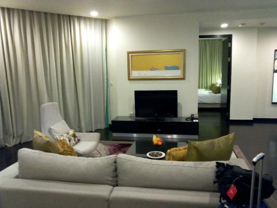 Chatrium Hotel Riverside Bangkok: Suite - zona giorno