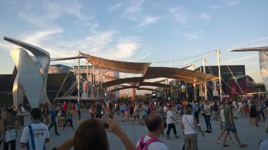 Expo 2015: Decumano