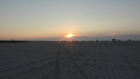 Sheraton Sand Key Resort: Sunset on the beach