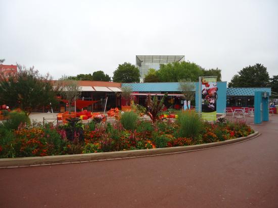 Futuroscope: superbes jardins !