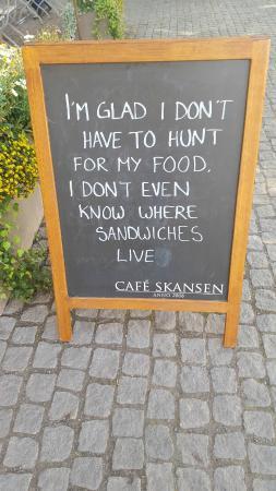 Cafe Skansen: смешно)