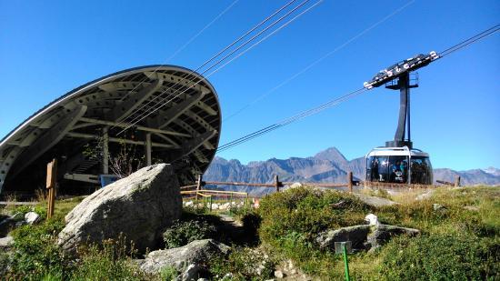 Punta Helbronner - Skyway Monte Bianco: Stazione intermedia