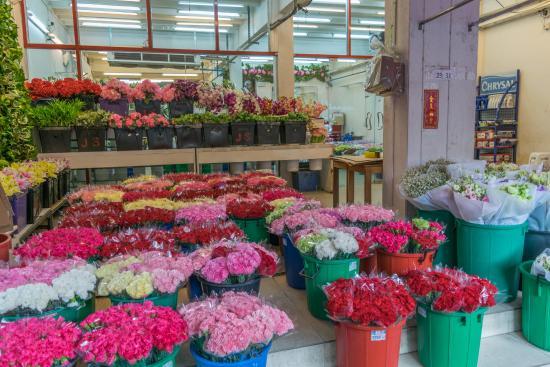 Pak Khlong Talat (Flower Market): Bangkok Flower Market
