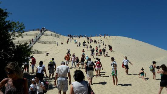 Dune du Pilat: Montée de la dune