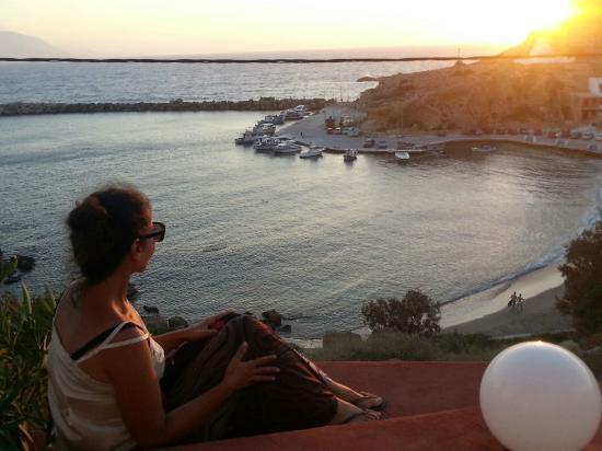 Hotel Alkioni: What a view