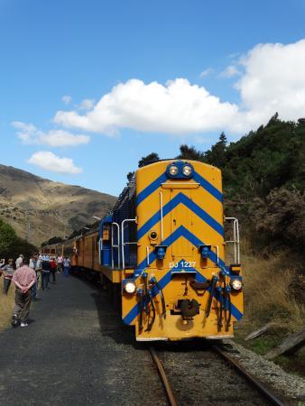 Taieri Gorge Railway: photo stop