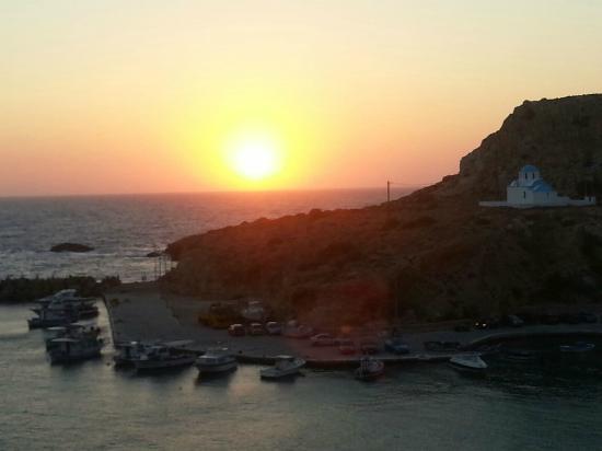 Hotel Alkioni: Sunset