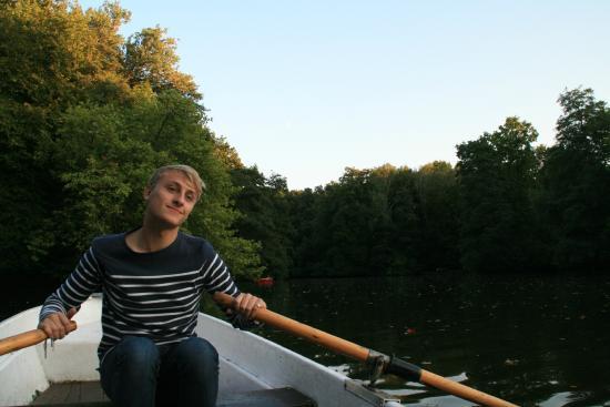 Tiergarten: Rowing