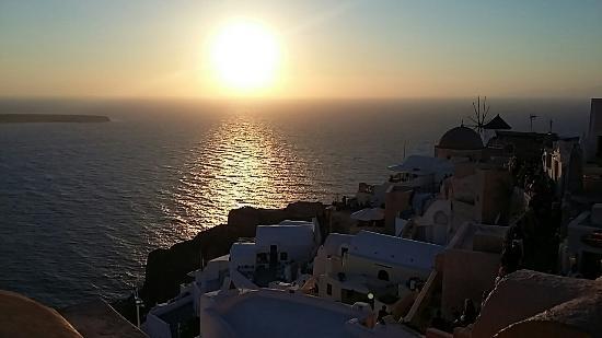 Sunset in Oia: Meraviglioso