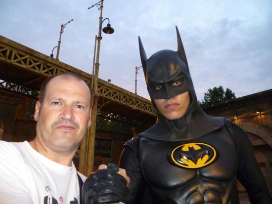 Parque Warner Madrid: En Gotham, con Batman...