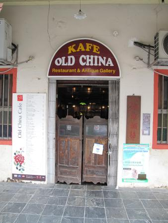 Old China Cafe: Exterior