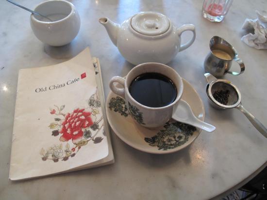 Old China Cafe: Melaka Coffee